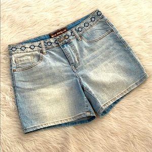Bit & Bridle Southwest Jean Shorts 6
